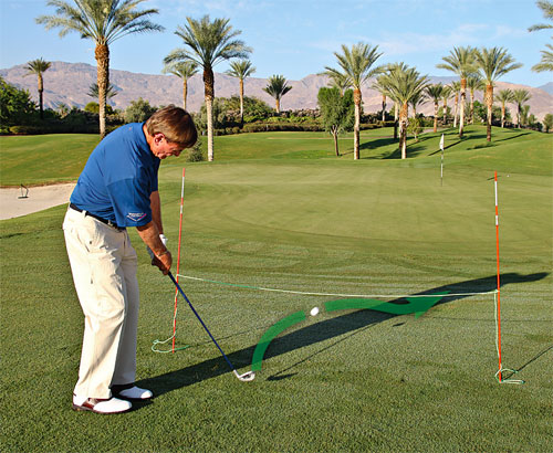 Golf Instruction for Pitching the Golf Ball