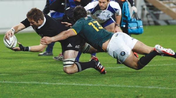 Rugby-All Blacks Again To The Dim Places As Title Resumes