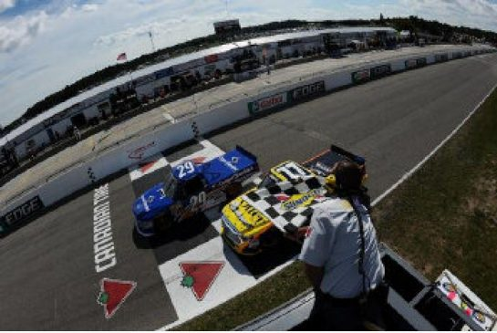 Ryan Blaney Wins Labor Day Weekend NASCAR Truck Race