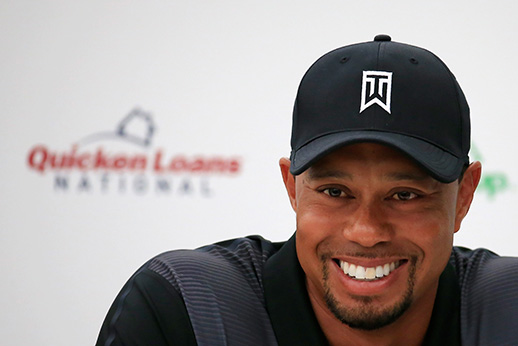 Tiger Woods Talks About Charity Tournament and Gaining Strength Back