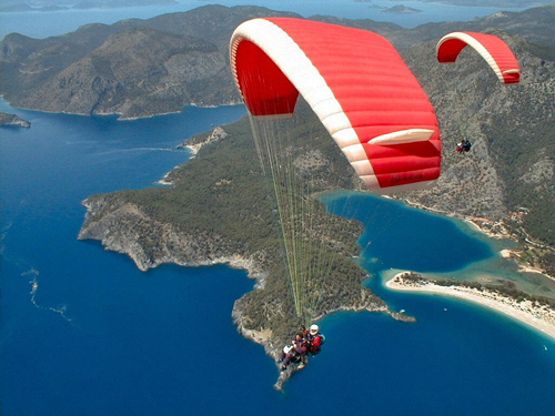 4 Reasons We Shouldn't Be Fearful in Paragliding