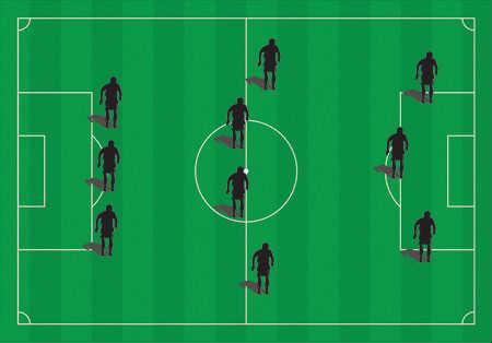 Understanding Three Basic Soccer Formations