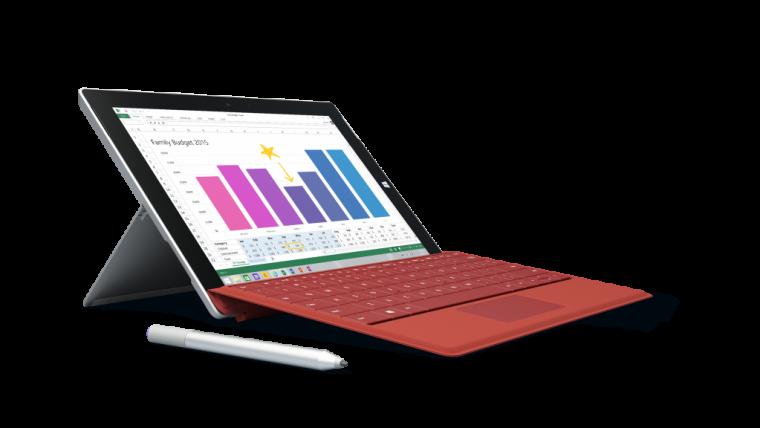 Surface 3 vs MacBook Air 2015