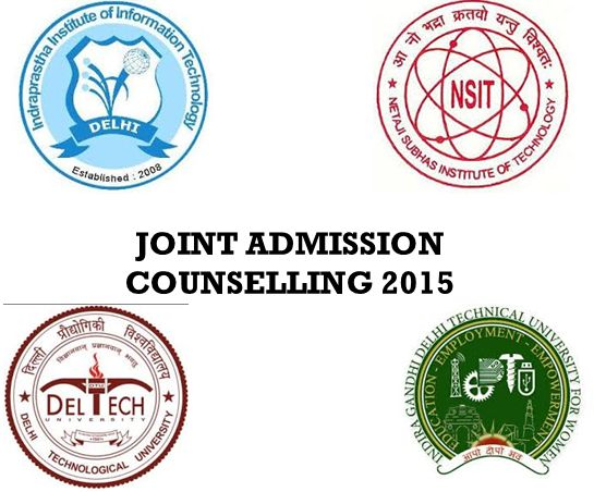 JAC Delhi 2015 – Counselling For A Seat In Engineering Colleges In Deslhi