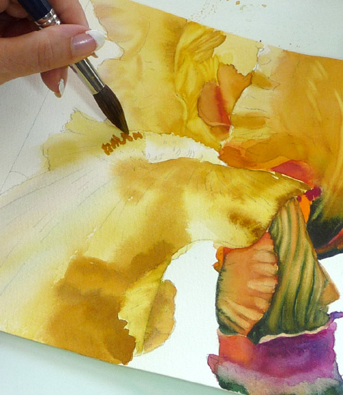 Negative Painting Techniques For Watercolorists