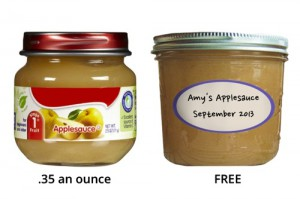 Homemade Baby Food vs.Store-Bought
