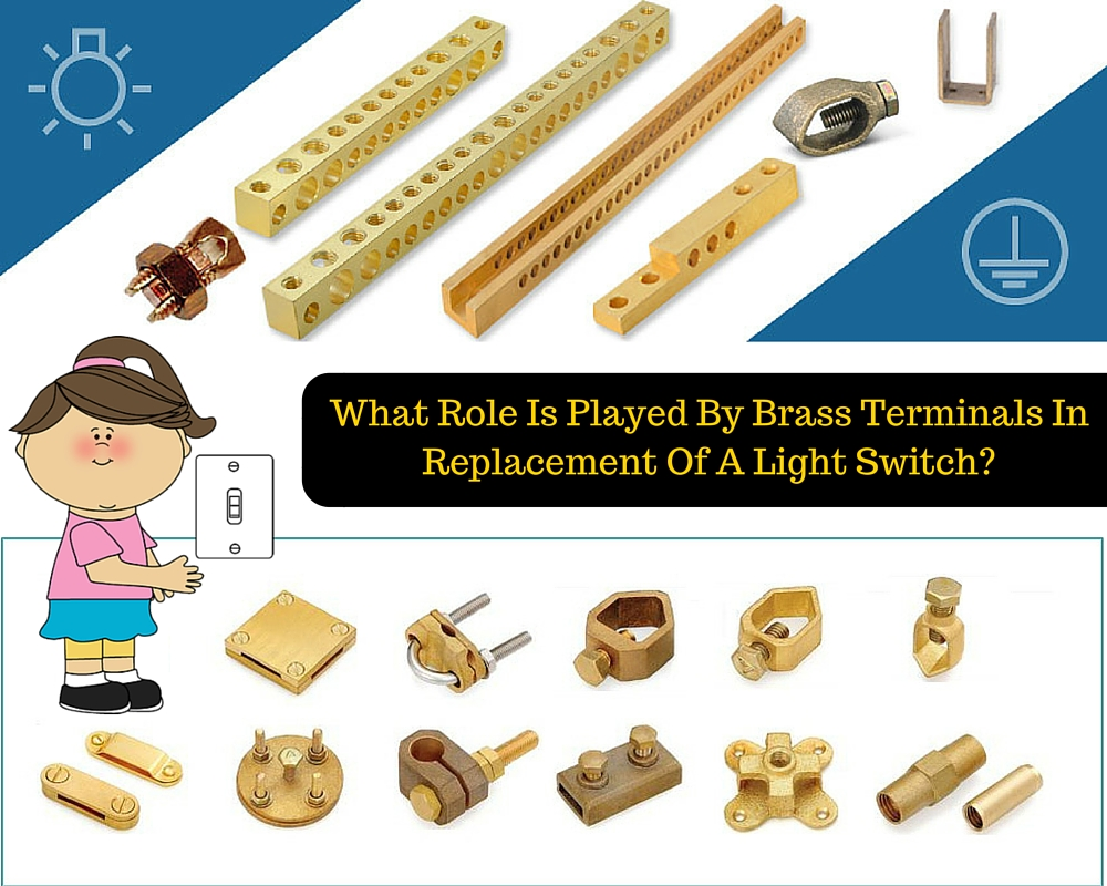 Role Of Brass Terminals In Replacement Of A Light Switch