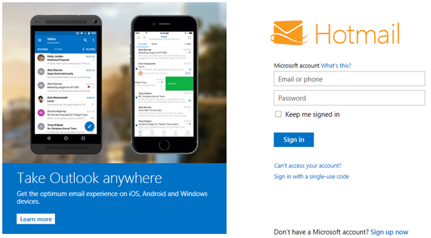 Get Hotmail Support by Hotmail Experts