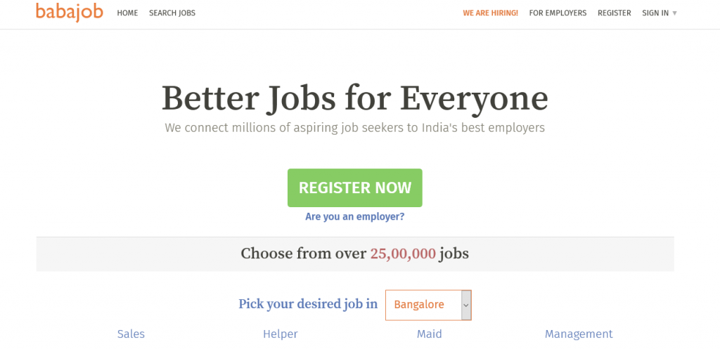 A Pool Of Job Opportunities Created by Employers On The Net