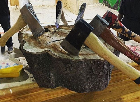 Axe Throwing Is The Ultimate Toronto Team Building Experience