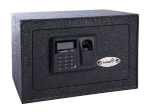 Fingerprint  Gun Safe - The Gunvault Microvault VL MVB1000 Biometric Gun Safe