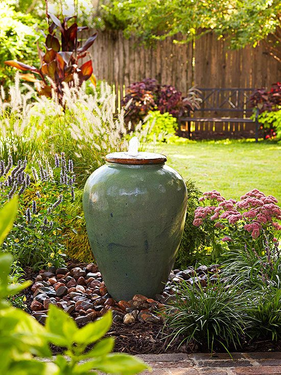 Decorate Your Garden With Ceramic Water Springs - Know Their Types and Benefits