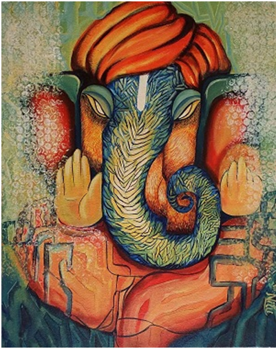 Understanding Different Types Of Ganesha Paintings Based On Posture