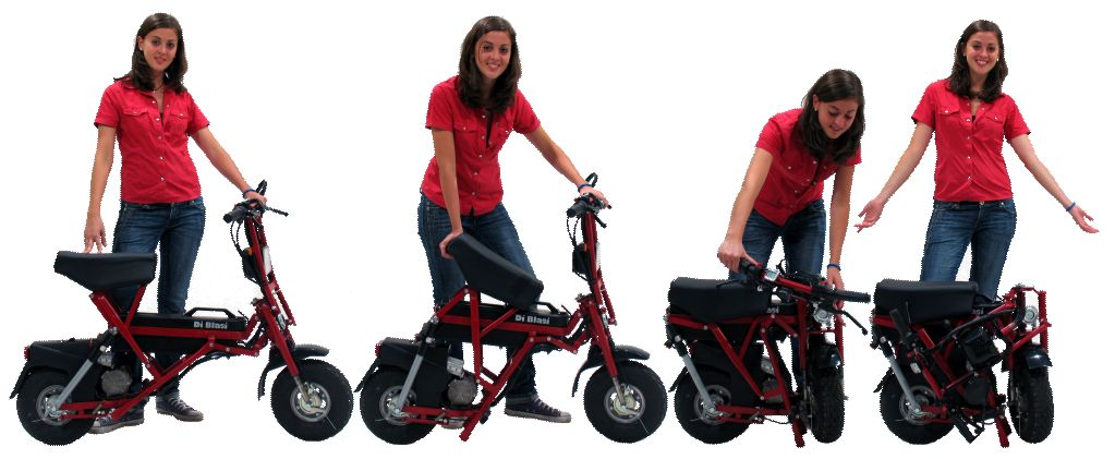 Folding Scooter- Excellent Play Mate and Health Accessory