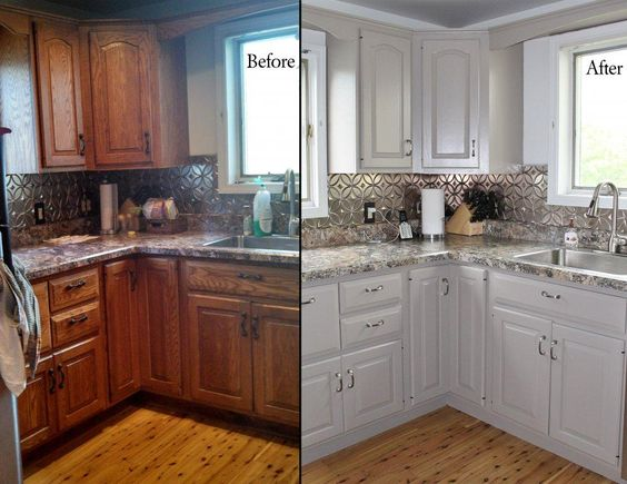 Take Your Kitchen From Drab To Fab: How To Reface Old Kitchen Cabinets