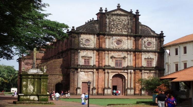 Basilica Of Bom Jesus Church Goa