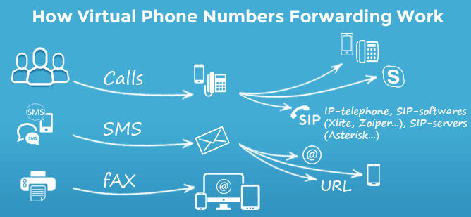 Difference Between VoIP and Virtual Phone Number