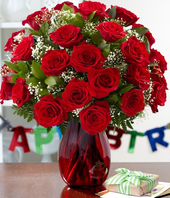 Why Flowers Are A Good Birthday Gift?
