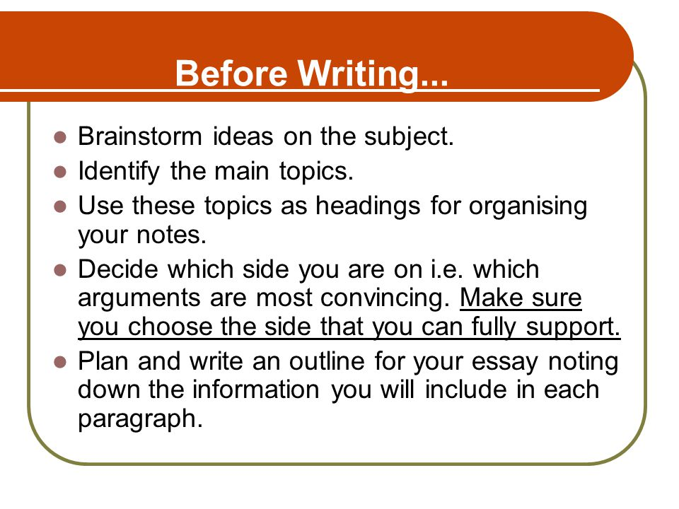 How To Identify The Key Points About Any Topic Before Writing An Essay