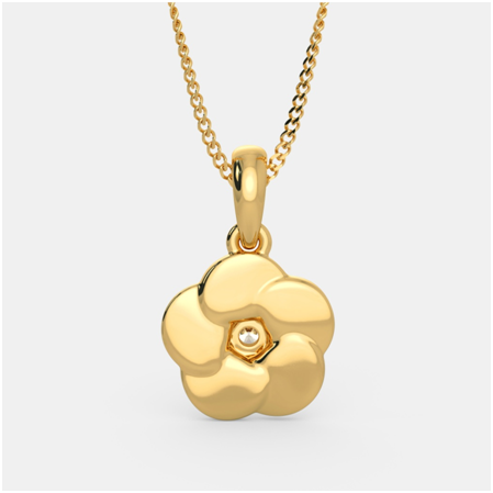 White Gold Flower Pendants Make Prized Heirloom Pieces