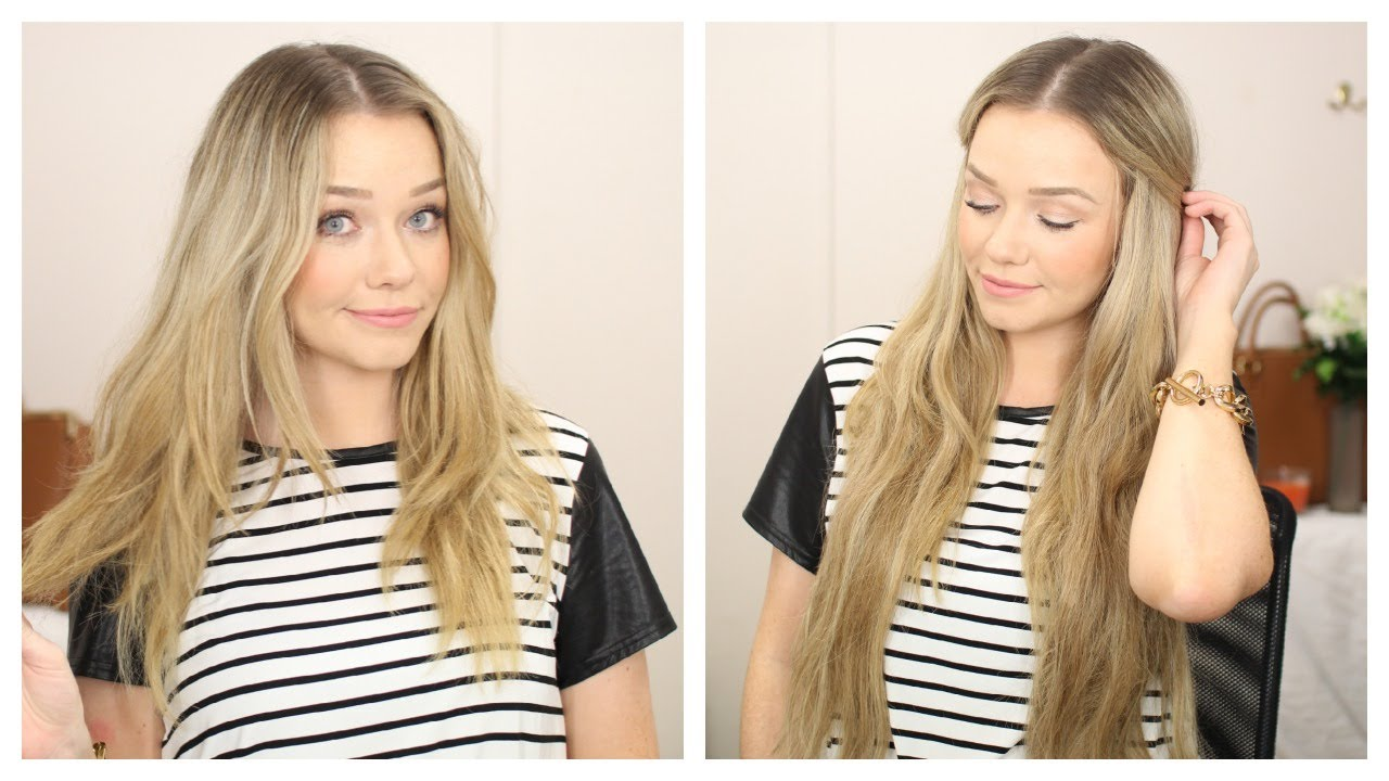 Your Complete Guide To Apply Invisible Hair Extensions