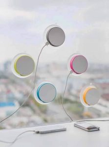 Window-Mounted Solar Charger